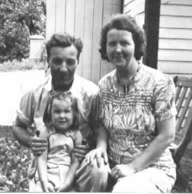 Ned, Myra, & Connie - 1943
